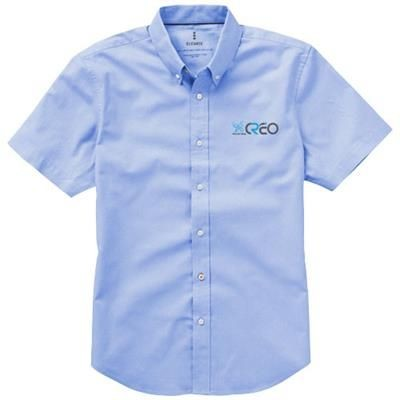 Picture of MANITOBA SHORT SLEEVE SHIRT in Light Blue
