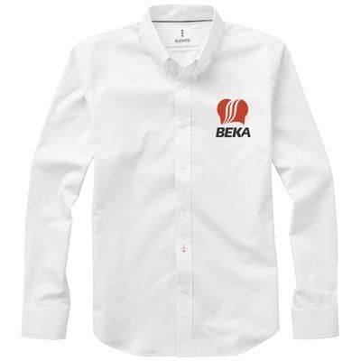 Picture of VAILLANT LONG SLEEVE SHIRT in White Solid