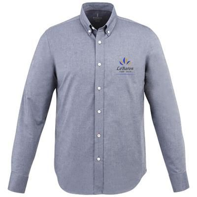 Picture of VAILLANT LONG SLEEVE SHIRT in Navy