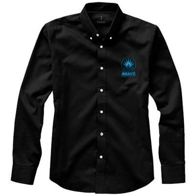 Picture of VAILLANT LONG SLEEVE SHIRT in Black Solid