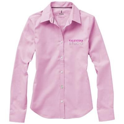 Picture of VAILLANT LONG SLEEVE LADIES SHIRT in Pink
