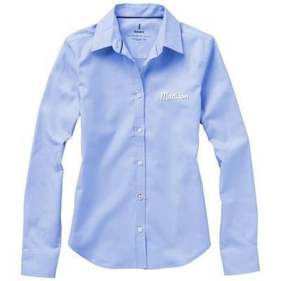 Picture of VAILLANT LONG SLEEVE LADIES SHIRT in Light Blue