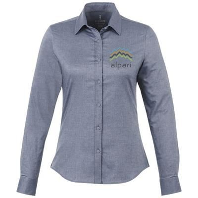Picture of VAILLANT LONG SLEEVE LADIES SHIRT in Navy