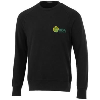 Picture of KRUGER UNISEX CREW NECK SWEATER in Black Solid