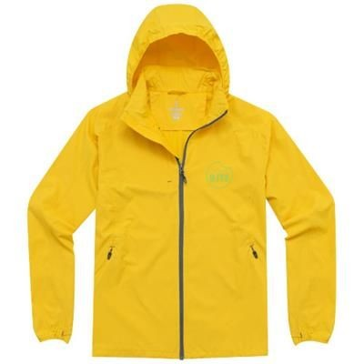 Picture of FLINT LIGHTWEIGHT JACKET in Yellow