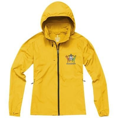 Picture of FLINT LIGHTWEIGHT LADIES JACKET in Yellow