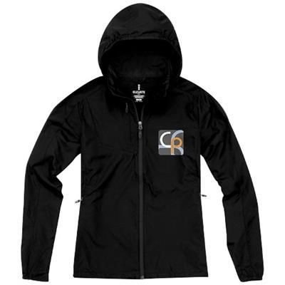 Picture of FLINT LIGHTWEIGHT LADIES JACKET in Black Solid