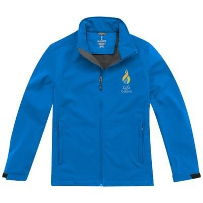 Picture of MAXSON SOFTSHELL JACKET in Blue