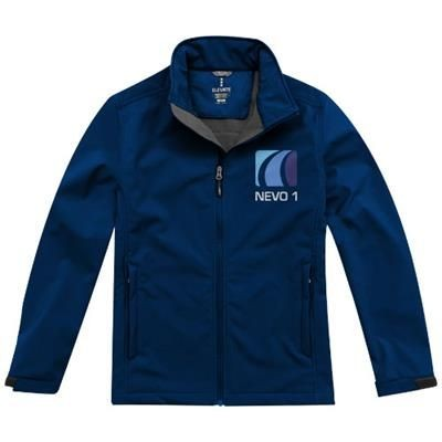 Picture of MAXSON SOFTSHELL JACKET in Navy