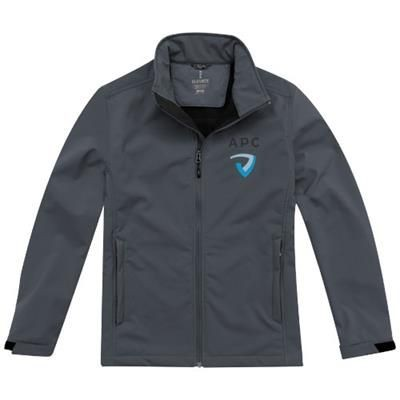 Picture of MAXSON SOFTSHELL JACKET in Storm Grey