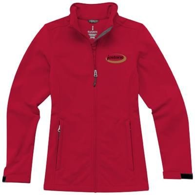 Picture of MAXSON SOFTSHELL LADIES JACKET in Red