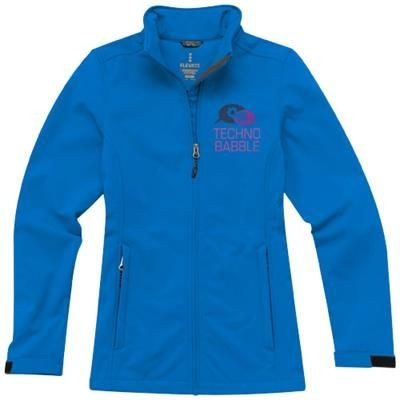 Picture of MAXSON SOFTSHELL LADIES JACKET in Blue