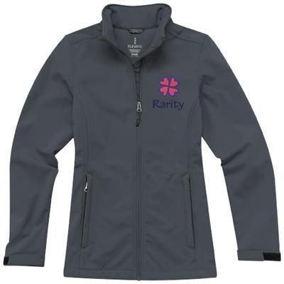 Picture of MAXSON SOFTSHELL LADIES JACKET in Storm Grey