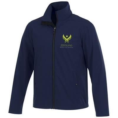 Picture of KARMINE MENS SOFTSHELL JACKET in Navy