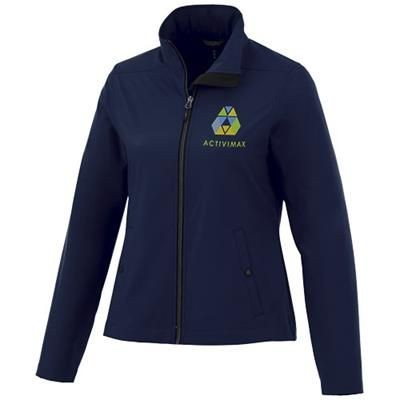 Picture of KARMINE LADIES SOFTSHELL JACKET in Navy