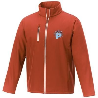 Picture of ORION MENS SOFTSHELL JACKET in Orange