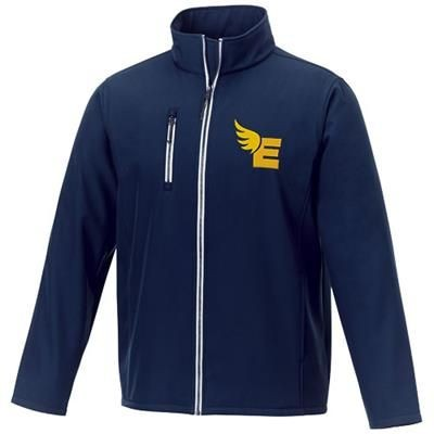 Picture of ORION MENS SOFTSHELL JACKET in Navy