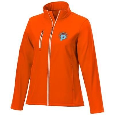 Picture of ORION LADIES SOFTSHELL JACKET in Orange
