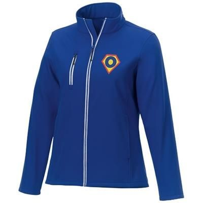 Picture of ORION LADIES SOFTSHELL JACKET in Blue