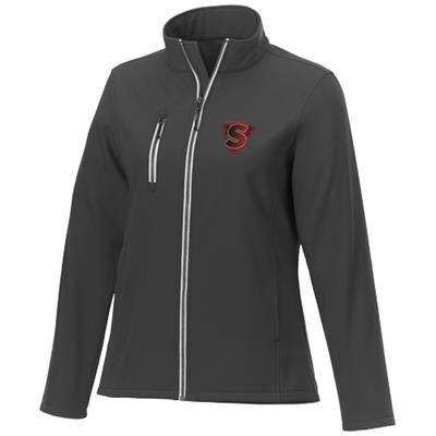 Picture of ORION LADIES SOFTSHELL JACKET in Storm Grey