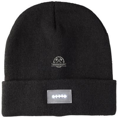 Picture of LUCINA LED BEANIE in Black Solid