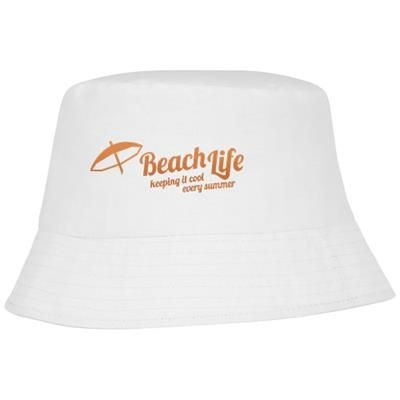 Picture of SOLARIS SUN HAT in White Solid