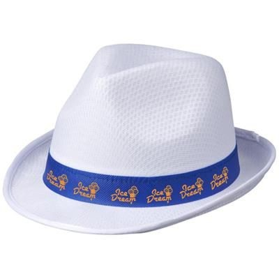 Picture of TRILBY HAT in White Solid
