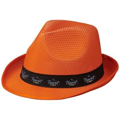 Picture of TRILBY HAT in Orange