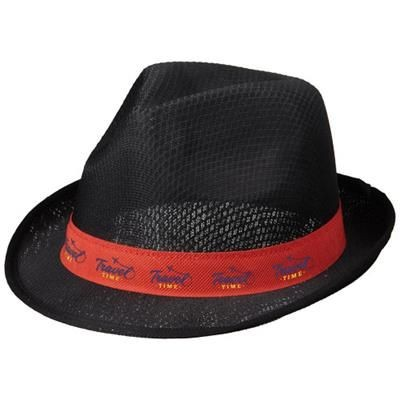 Picture of TRILBY HAT in Black Solid