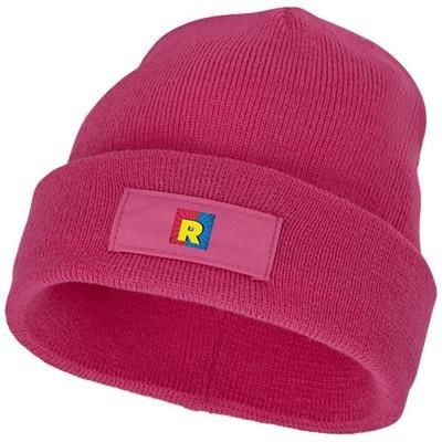 Picture of BOREAS BEANIE with Patch in Magenta