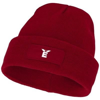 Picture of BOREAS BEANIE with Patch in Red