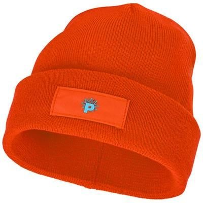 Picture of BOREAS BEANIE with Patch in Orange