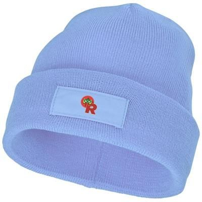 Picture of BOREAS BEANIE with Patch in Light Blue