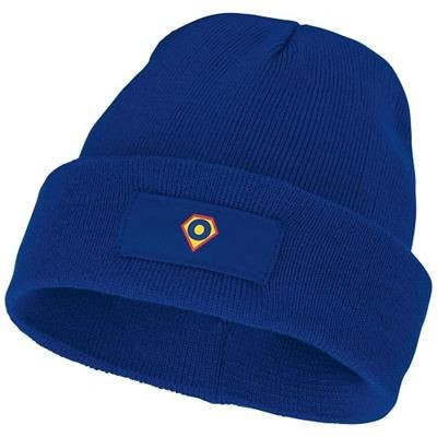 Picture of BOREAS BEANIE with Patch in Blue