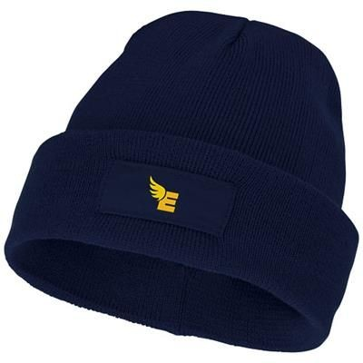 Picture of BOREAS BEANIE with Patch in Navy