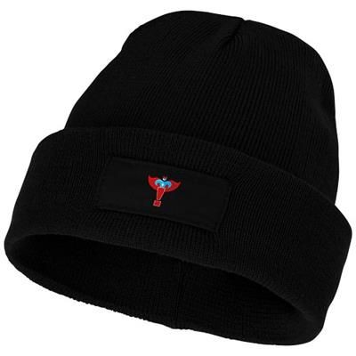 Picture of BOREAS BEANIE with Patch in Black Solid