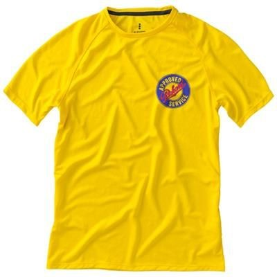 Picture of NIAGARA SHORT SLEEVE MENS COOL FIT T-SHIRT in Yellow