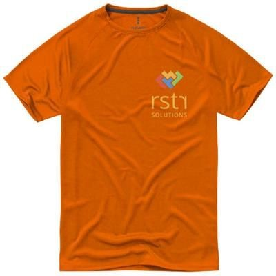 Picture of NIAGARA SHORT SLEEVE MENS COOL FIT T-SHIRT in Orange