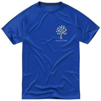 NIAGARA SHORT SLEEVE MENS COOL FIT T-SHIRT in Blue