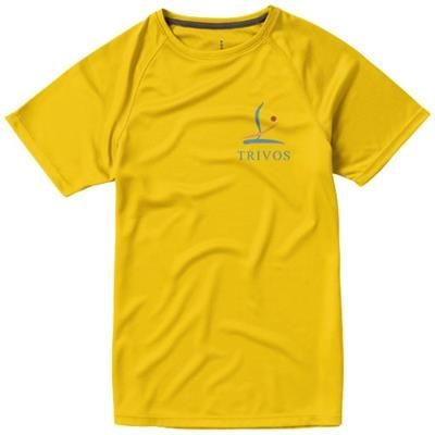 Picture of NIAGARA SHORT SLEEVE LADIES COOL FIT T-SHIRT in Yellow