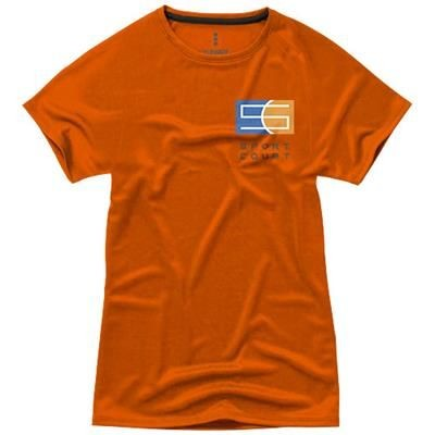 Picture of NIAGARA SHORT SLEEVE LADIES COOL FIT T-SHIRT in Orange