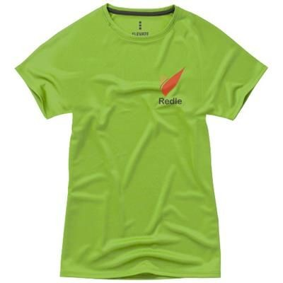 Picture of NIAGARA SHORT SLEEVE LADIES COOL FIT T-SHIRT in Apple Green