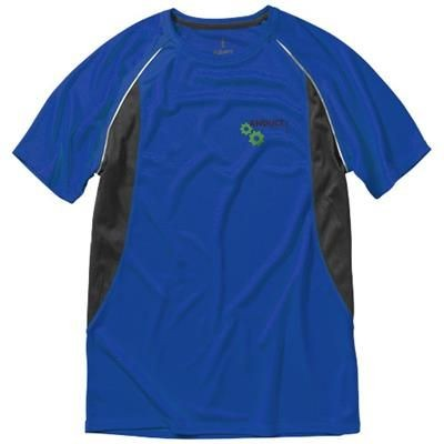 Picture of QUEBEC SHORT SLEEVE MENS COOL FIT T-SHIRT in Blue