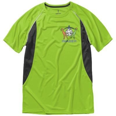 Picture of QUEBEC SHORT SLEEVE MENS COOL FIT T-SHIRT in Apple Green