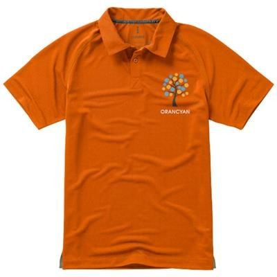 Picture of OTTAWA SHORT SLEEVE MENS COOL FIT POLO in Orange