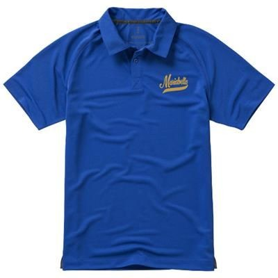 Picture of OTTAWA SHORT SLEEVE MENS COOL FIT POLO in Blue