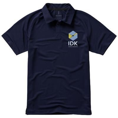 Picture of OTTAWA SHORT SLEEVE MENS COOL FIT POLO in Navy