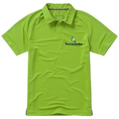 Picture of OTTAWA SHORT SLEEVE MENS COOL FIT POLO in Apple Green