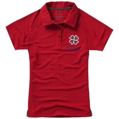 Picture of OTTAWA SHORT SLEEVE LADIES COOL FIT POLO in Red