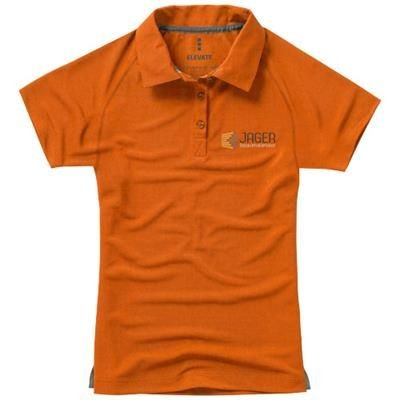 Picture of OTTAWA SHORT SLEEVE LADIES COOL FIT POLO in Orange
